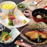 金目鯛漁師煮と刺身膳