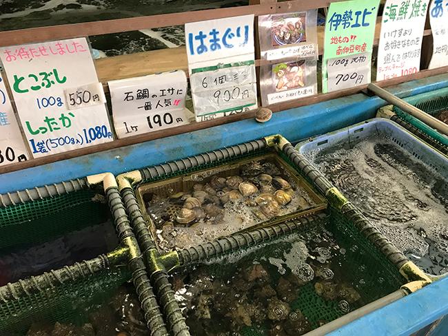 浜焼き貝類