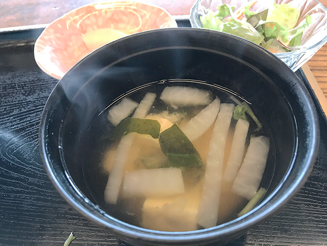 磯辺の味噌汁