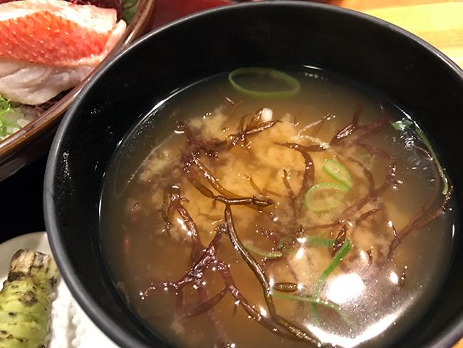 鮪屋味噌汁