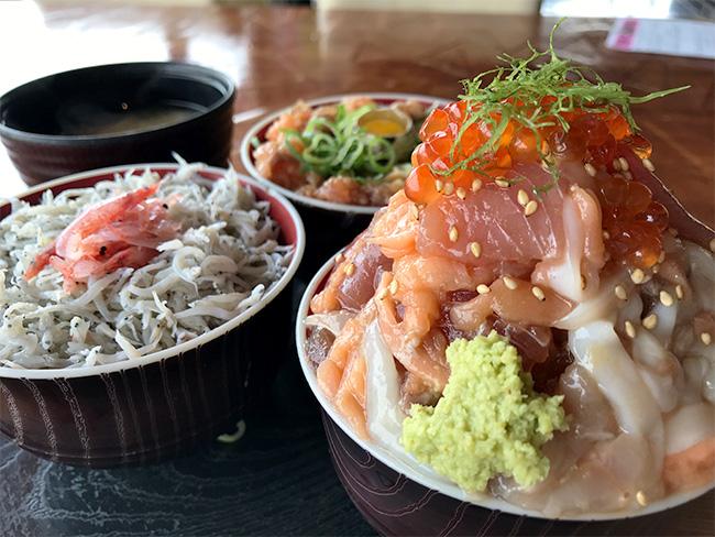 伊豆高原ビール海鮮丼2