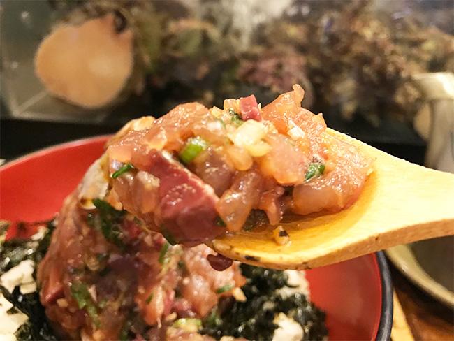 錦鯵たたき丼2