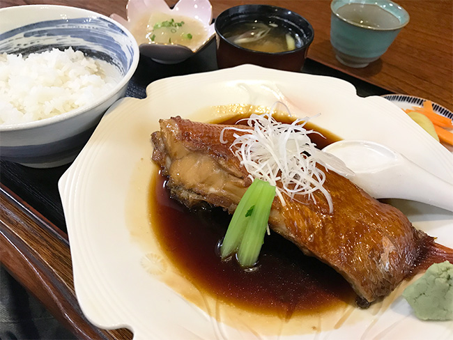 北川いそべ煮魚定食