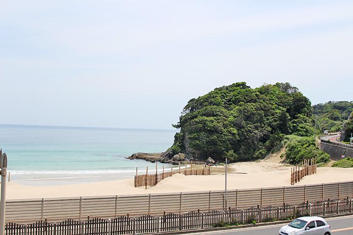 伊豆 白浜海水浴場
