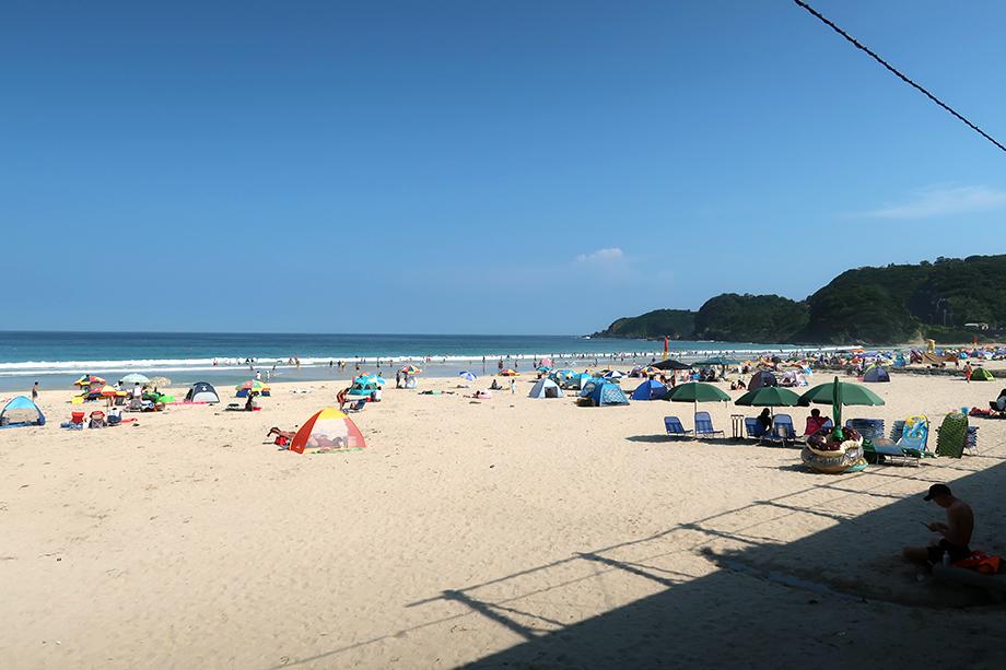 白浜大浜海水浴場【伊豆下田】都心から一番近い一番キレイな海