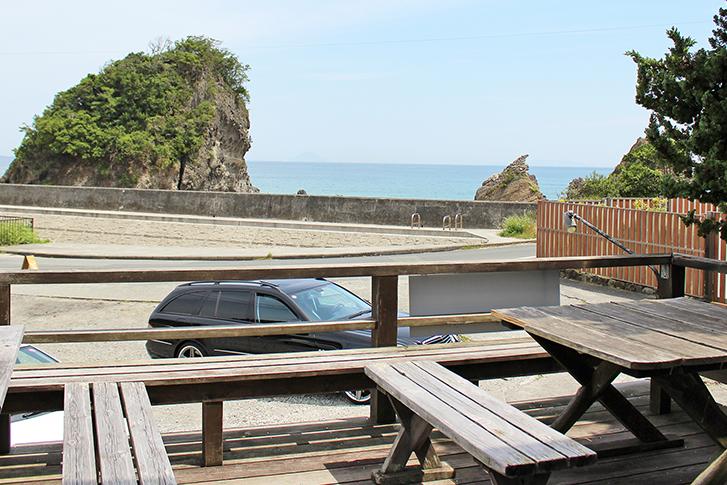 SunnySide【伊豆下田・吉佐美・大浜】海を眺めながらランチ/テラスからの眺め