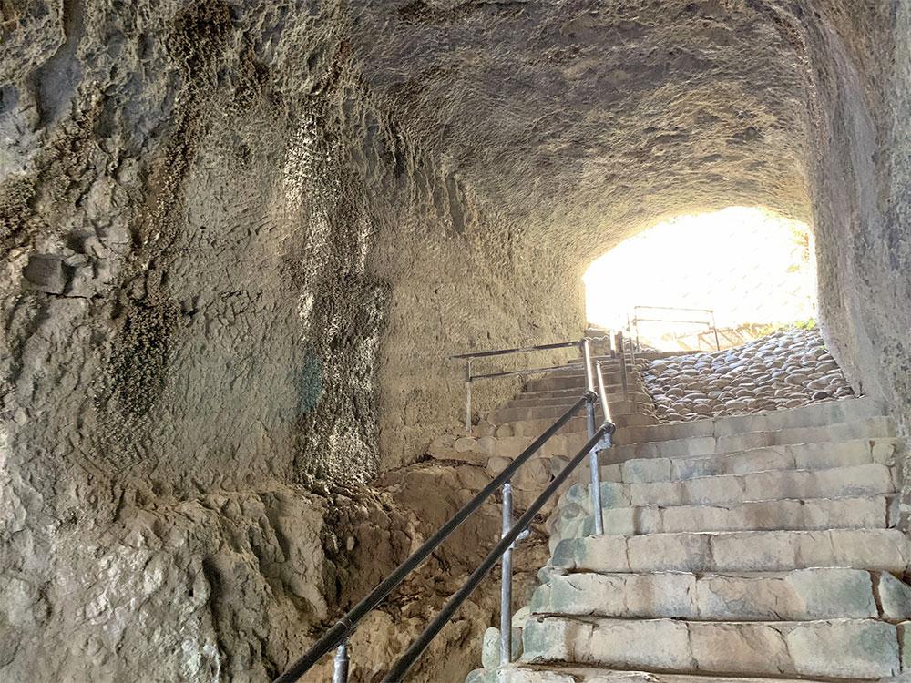 龍宮窟 階段
