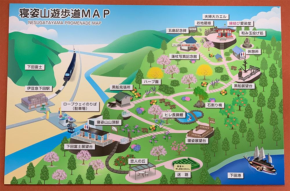 下田ロープウェイ 地図