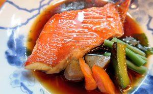 ごろさや 金目鯛の煮魚