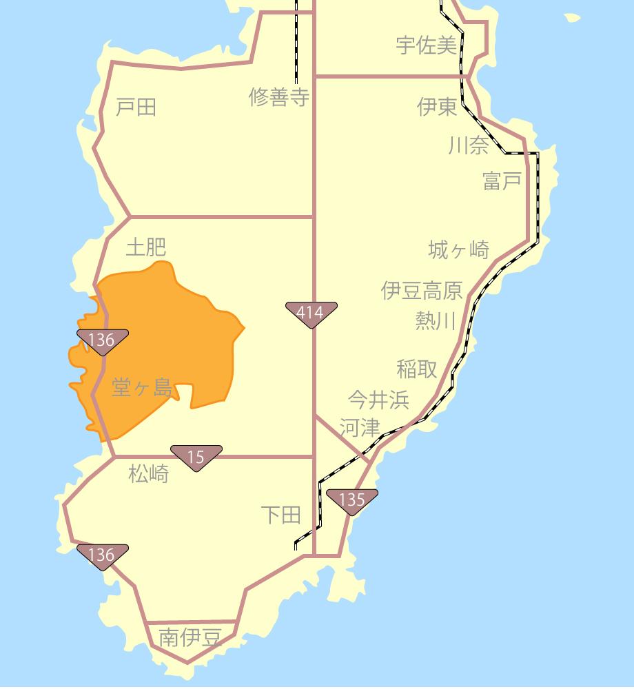 堂ヶ島グルメ観光マップ
