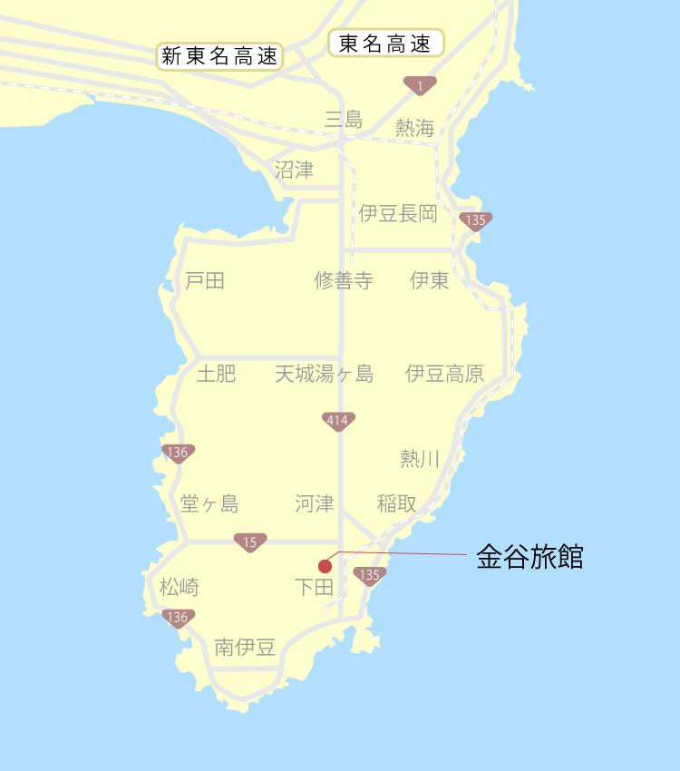 金谷旅館『口コミと周辺』ご当地サイト【伊豆グルメ観光】