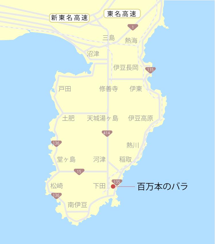 百万本のバラ『口コミと周辺』ご当地サイト【伊豆グルメ観光】