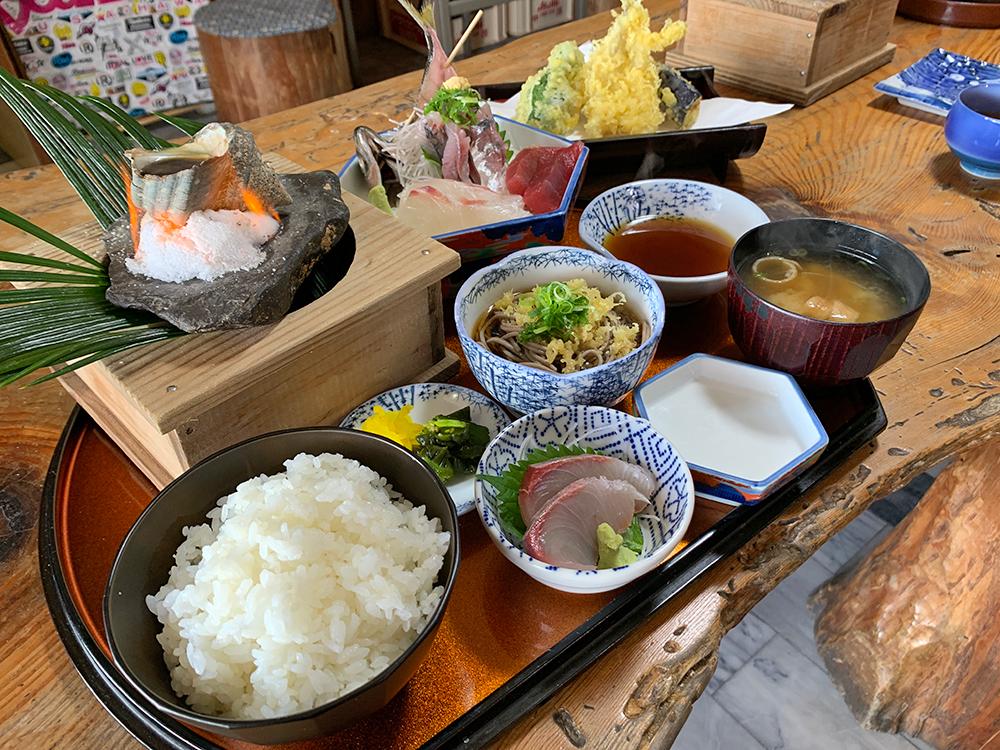 磯一 下田 海鮮料理 おまかせ定食