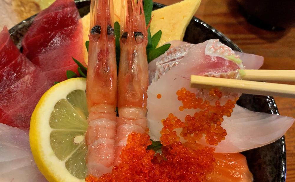 海鮮料理 やまや 海鮮丼&ミックスフライセット 海鮮丼  レンコダイ
