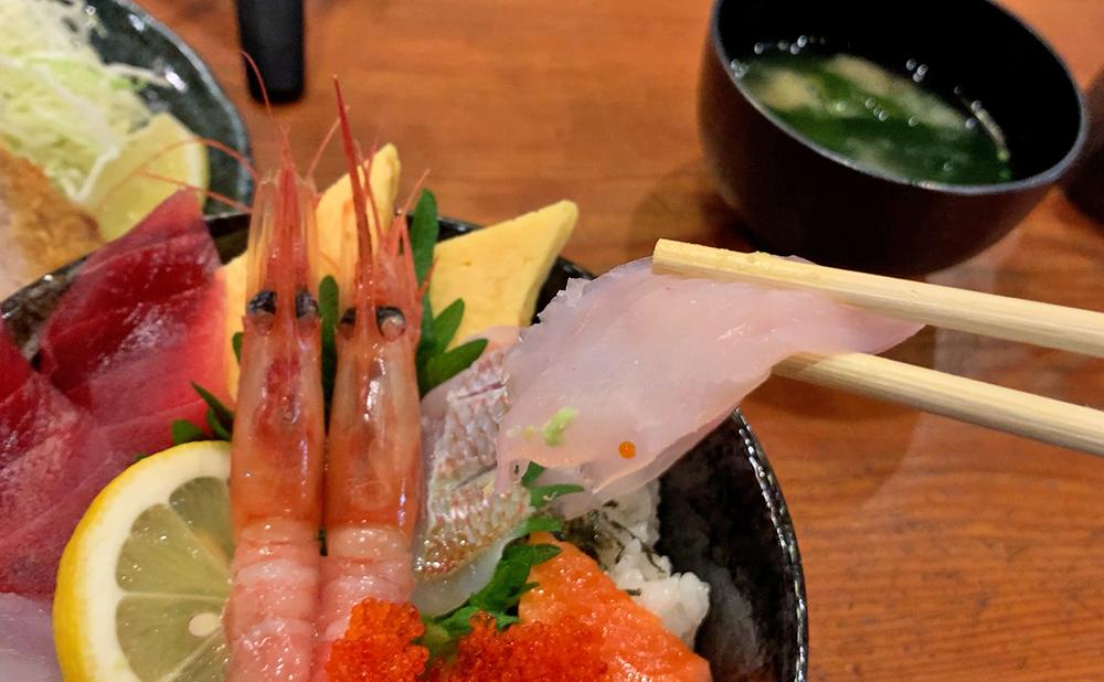 海鮮料理 やまや 海鮮丼&ミックスフライセット 海鮮丼